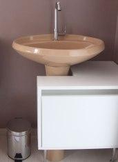 Mini gabinete para banheiro